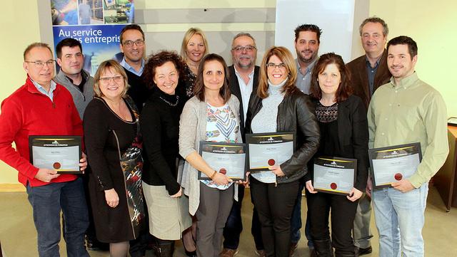 22 entreprises honorées par le CLD Brome-Missisquoi
