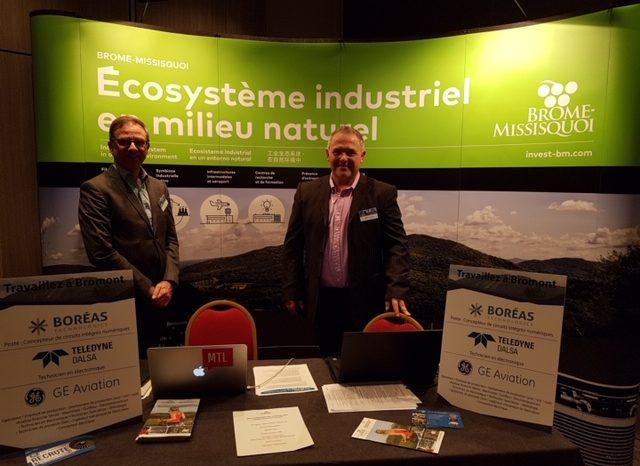 150 candidatures internationales pour les entreprises de Brome-Missisquoi