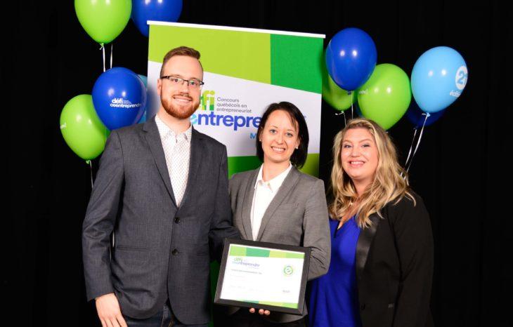 Défi OSEntreprendre – Une entreprise de Brome-Missisquoi finaliste au prix du public, niveau national